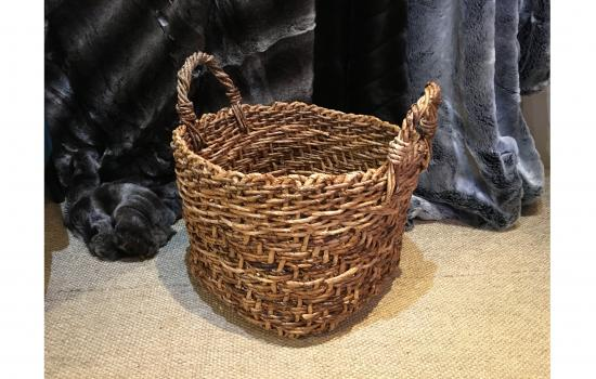 basket fyvie Flamant Simmons Interiors Grayshott accessories