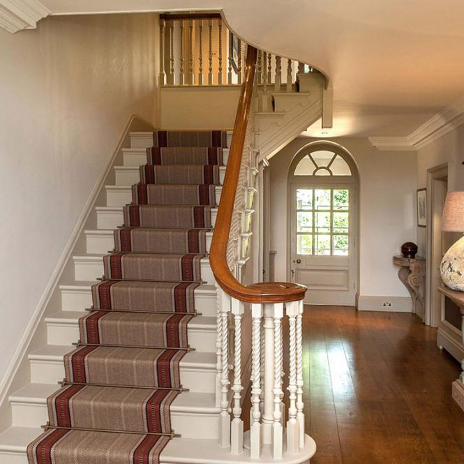 stair case roger oates lighting Simmons Interiors Hampshire Surrey Sussex