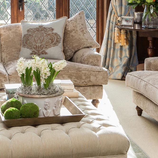 upholstery curtains cushions sofa Tamarisk Flamant Simmons Interiors Hampshire Surrey Sussex