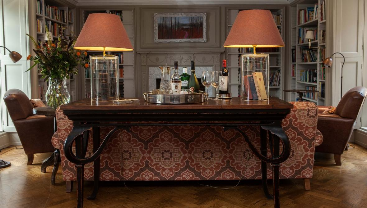 library William Yeoward furniture George Smith upholstery Simmons Interiors Hampshire Surrey Sussex